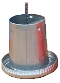 5kg Galvanised Steel Feeder