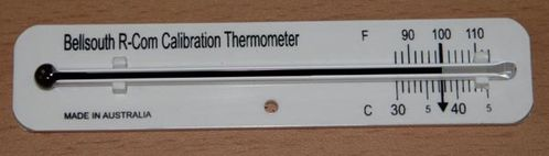 Rcom Calibration Check Thermometer