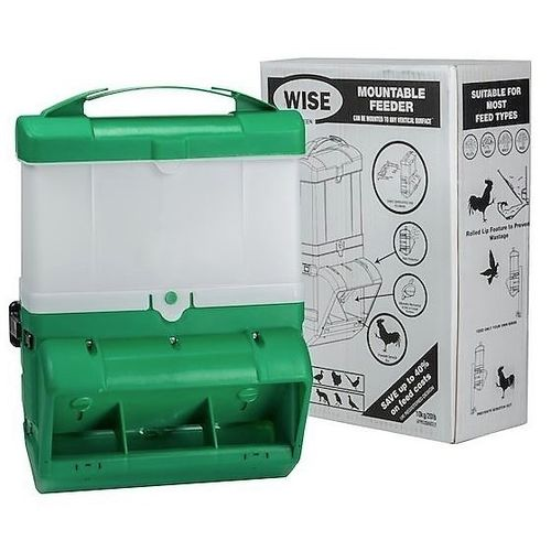 Wise Mountable Feeder 10kg Green